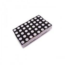 KPM - 5x7 5 mm Ledli Ortak Anot Dot matrix - KPM-2057BSRND