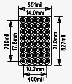 5x8 cm Proto Delikli Pertinaks PCB