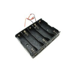 5xAA Battery Holder - Thumbnail