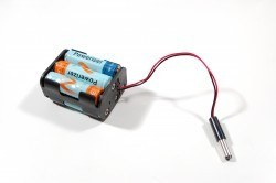 6-AA Battery Housing (Double Sided and Barrel Jack Output) - Thumbnail
