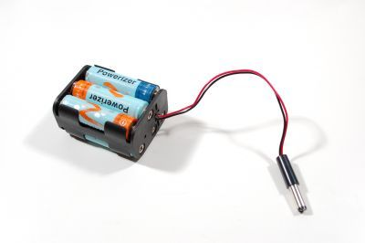 6-AA Battery Housing (Double Sided and Barrel Jack Output)