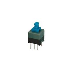 Robotistan - 6 Pin ON OFF Switch - Blue (8x8mm)