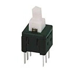 Robotistan - 6 Pin ON OFF Switch - White (6x6mm)