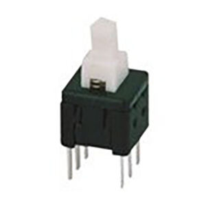 6 Pin ON OFF Switch - White (6x6mm)