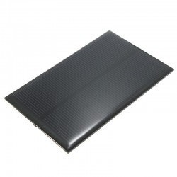 Robotistan - 6 V Güneş Paneli 150 mA - Solar Panel 105x66 mm