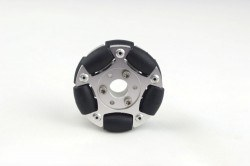 Nexus Robot - 60 mm Double Aluminum Omni Wheel