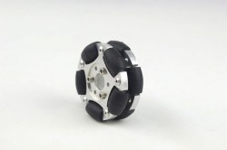 60 mm Double Aluminum Omni Wheel - Thumbnail
