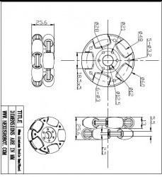 60 mm Çiftli Alüminyum Omni Tekerlek - 14145 - Thumbnail