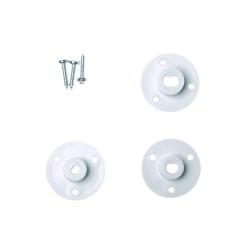 60mm Plastik Omni Tekerlek - Beyaz - Thumbnail