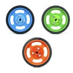 60x11mm Green Wheel Set - Thumbnail