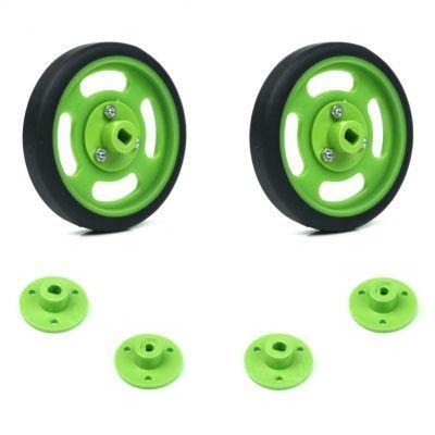 60x11mm Green Wheel Set