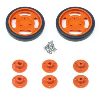 60x11mm Orange Wheel Set