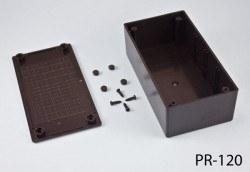 68 x 130 x 44 mm Proje Kutusu (Siyah) - Thumbnail