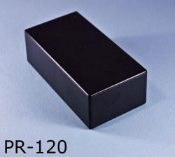 68 x 130 x 44 mm Proje Kutusu - PR-120 (Siyah) - Thumbnail