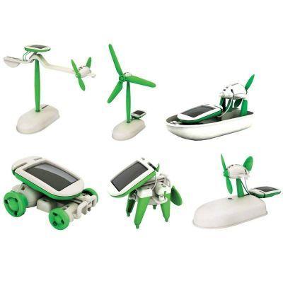 6′lı Güneş Enerjili Robot Eğitim Kiti (6-in-1 Educational Solar Kit)
