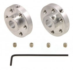 Pololu - 6mm Motor Connection Component Pair (With M3 Fixing Screw Hole) - PL-1999