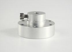 6mm New Aluminum Spacer (Hub) with Key 18032 - Thumbnail