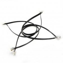6P6C RJ25 Cable 35cm - Thumbnail