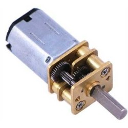 China - 6V 2100Rpm Micro DC Gearmotor