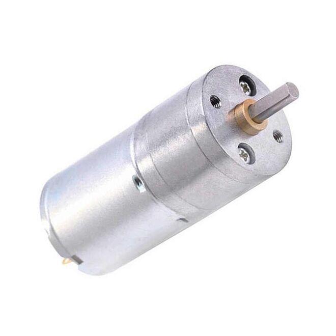 6V 25mm 12 Redüktörlü DC Motor