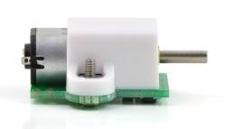 10:1 6 V 3000 RPM Karbon Fırçalı Redüktörlü Mikro DC Motor - Thumbnail