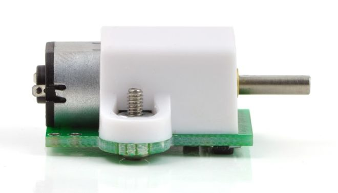 6V 400 RPM Carbon Brushed Micro DC Gearmotor