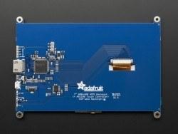 7 Inch Dokunmatik HDMI Ekran - Thumbnail