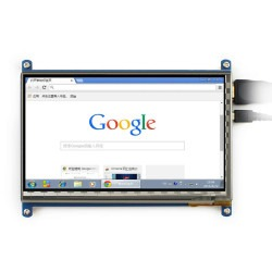 "7"" HDMI Capacitive LCD Touch Display - 800x480 - Thumbnail"