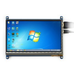 WaveShare 7 Inch HDMI Kapasitif Dokunmatik LCD Ekran - 1024x600 (C) - Thumbnail