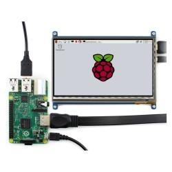 7 Inch HDMI Kapasitif Dokunmatik LCD Ekran - 1024x600 (C) - Thumbnail