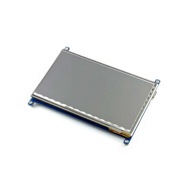 7 Inch HDMI Kapasitif Dokunmatik LCD Ekran - 1024x600 (C)