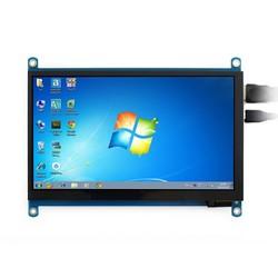 WaveShare 7 Inch HDMI Kapasitif Dokunmatik LCD (Çoklu Sistem) - 1024x600 (H) - Thumbnail