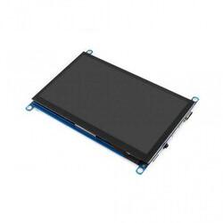 WaveShare - WaveShare 7 Inch HDMI Kapasitif Dokunmatik LCD (Çoklu Sistem) - 1024x600 (H)