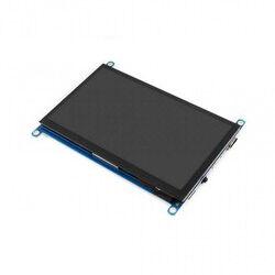 WaveShare 7 Inch HDMI Kapasitif Dokunmatik LCD (Çoklu Sistem) - 1024x600 (H)
