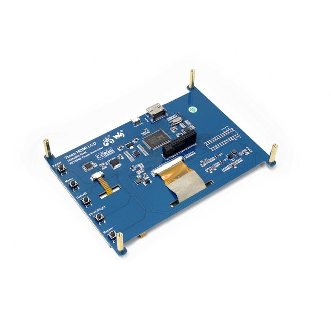 7 inch HDMI Resistive Touch LCD - 1024x600