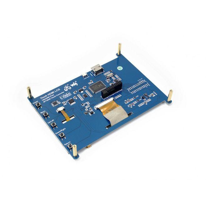 WaveShare 7 inch HDMI Rezistif Dokunmatik LCD - 1024x600