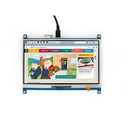 WaveShare 7 inch HDMI Rezistif Dokunmatik LCD - 1024x600 - Thumbnail