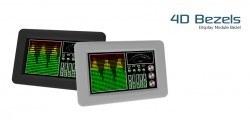 7.0 Inch Plastik Ekran Çerçevesi Beyaz - 4DBEZEL-70-W - Thumbnail