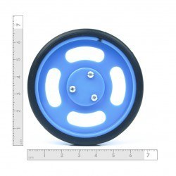 70x11mm Blue Wheel Set - Thumbnail