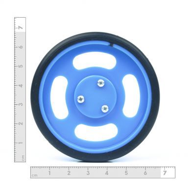 70x11mm Blue Wheel Set