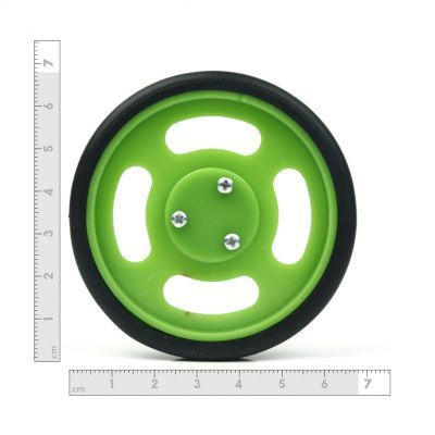 70x11mm Green Wheel Set