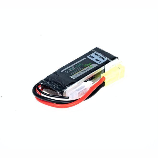 7,4V 2S Airsoft Lipo Batarya-Pil 1500mAh 20C - (16x25x67)