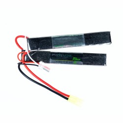 Full Power - 7,4V 2S Airsoft Lipo Batarya 1500mAh 25C - (6x20x128x2)