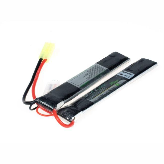 7,4V 2S Airsoft Lipo Batarya-Pil 1500mAh 25C - (6x20x128x2)