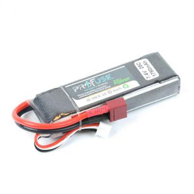 7.4 V 2S Lipo Batarya 1750 mAh 25C