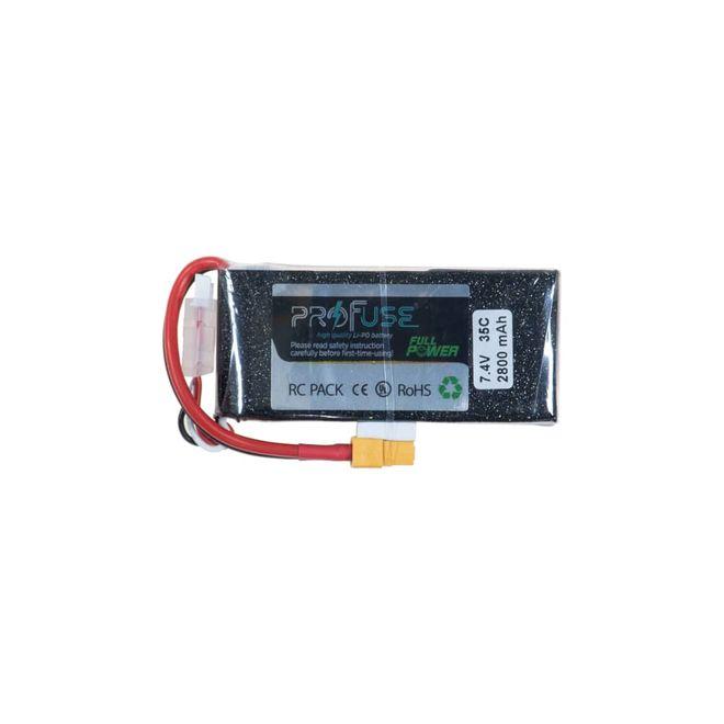 7.4 V 2S Lipo Batarya-Pil 2800 mAh 35C