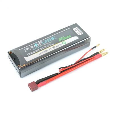 7.4 V 2S Lipo Batarya-Pil 4000 mAh 35C - Kutulu