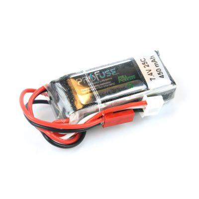 7.4 V 2S Lipo Batarya 450 mAh 25C