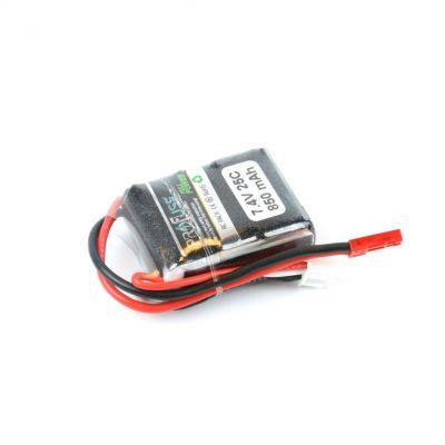 7.4 V 2S Lipo Batarya-Pil 850 mAh 30C