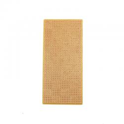 China - 6x13 cm Delikli Pertinaks Tek Yüzlü